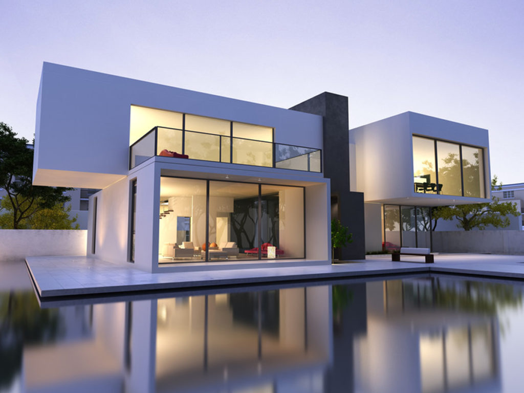 Luxury home building design